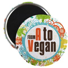 Vegan World Magnet