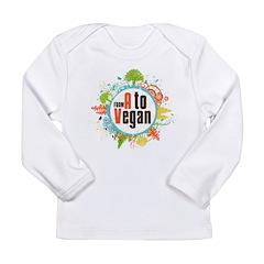 Vegan World Long Sleeve Infant T-Shirt