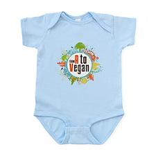 Vegan World Infant Bodysuit