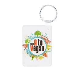 Vegan World Keychains