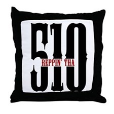 REPPIN THE 510 Throw Pillow