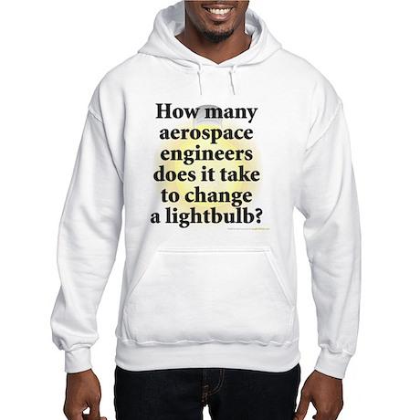 Aerospace Engineer Hooded Sweatshirt