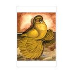 Yellow English Trumpeter Mini Poster Print