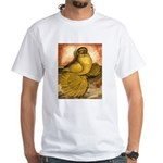 Yellow English Trumpeter White T-Shirt