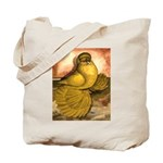 Yellow English Trumpeter Tote Bag