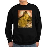 Yellow English Trumpeter Sweatshirt (dark)