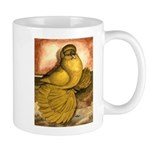 Yellow English Trumpeter Mug