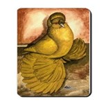 Yellow English Trumpeter Mousepad