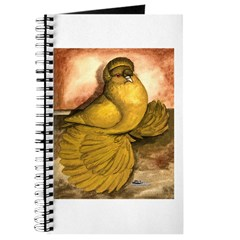 Yellow English Trumpeter Journal