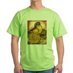 Yellow English Trumpeter Green T-Shirt