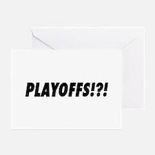 PLAYOFFS!?! Greeting Cards (Pk of 10)