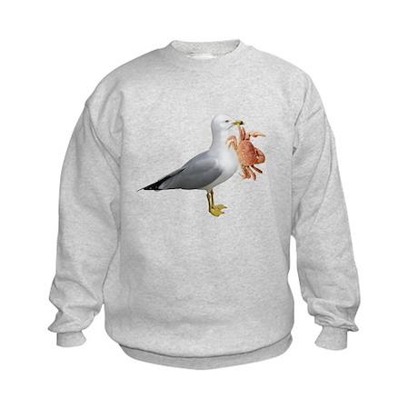 Seagull & Crab Kids Sweatshirt
