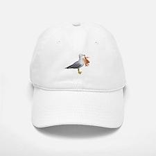 Seagull & Crab Baseball Baseball Cap