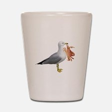 Seagull & Crab Shot Glass