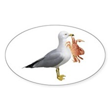 Seagull & Crab Decal