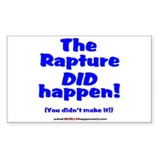The Rapture Decal