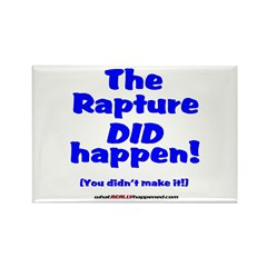 The Rapture Rectangle Magnet