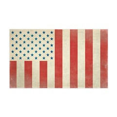 US Civilian Vintage Flag 38.5 x 24.5 Wall Peel