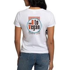 Vegan Dots Women's T-Shirt