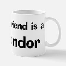 Best friend: Komondor Mug