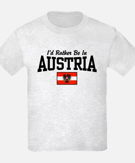 I'd Rather Be In Austria T-Shirt