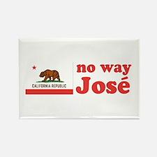 No Way Jose California Rectangle Magnet