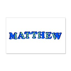 Matthew 22x14 Wall Peel