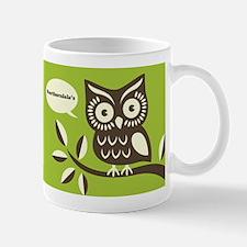 Northernlala Logo Owl Mug