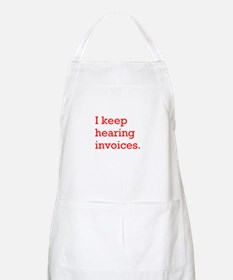 Hearing Invoices Apron