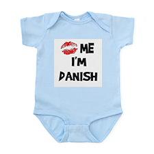Kiss Me I'm Danish Infant Creeper
