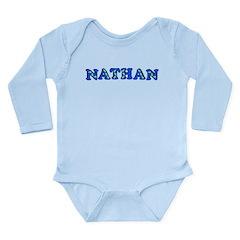 Nathan Long Sleeve Infant Bodysuit