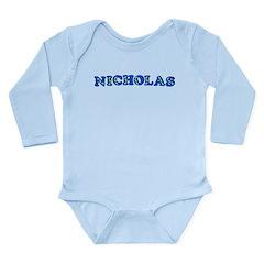 Nicholas Long Sleeve Infant Bodysuit