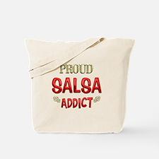 Salsa Addict Tote Bag