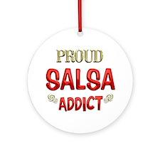 Salsa Addict Ornament (Round)