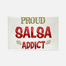 Salsa Addict Rectangle Magnet (100 pack)