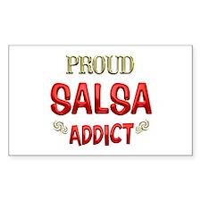 Salsa Addict Decal