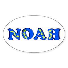 Noah Sticker (Oval 50 pk)