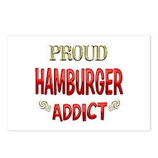 Hamburger Addict Postcards (Package of 8)