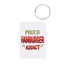 Hamburger Addict Keychains
