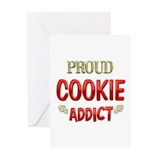 Cookie Addict Greeting Card