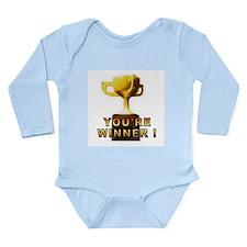 You're Winner Long Sleeve Infant Bodysuit