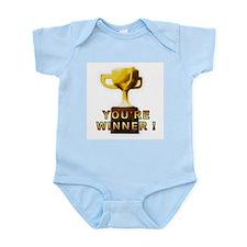 You're Winner Infant Bodysuit