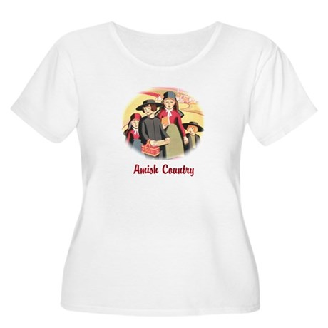 Amish Country Women's Plus Size Scoop Neck T-Shirt