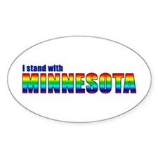 Stand With MN - Decal