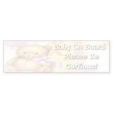 Bumper Sticker Baby on Board