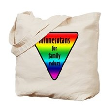 Minnesota Family Values Tote Bag