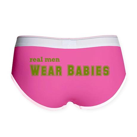 Real Men Wear Babies Women's Boy Brief