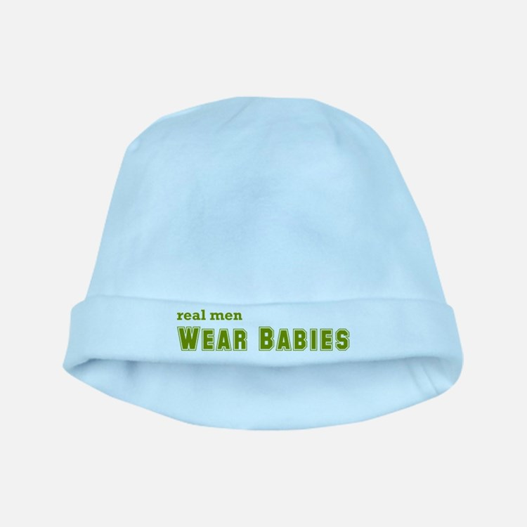 Real Men Wear Babies baby hat