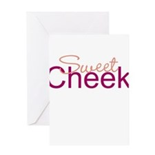 'Sweet Cheeks' Products Greeting Card