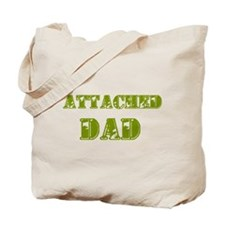 Attached Dad Tote Bag
